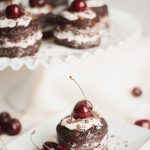 vegan chocolate cherry cake